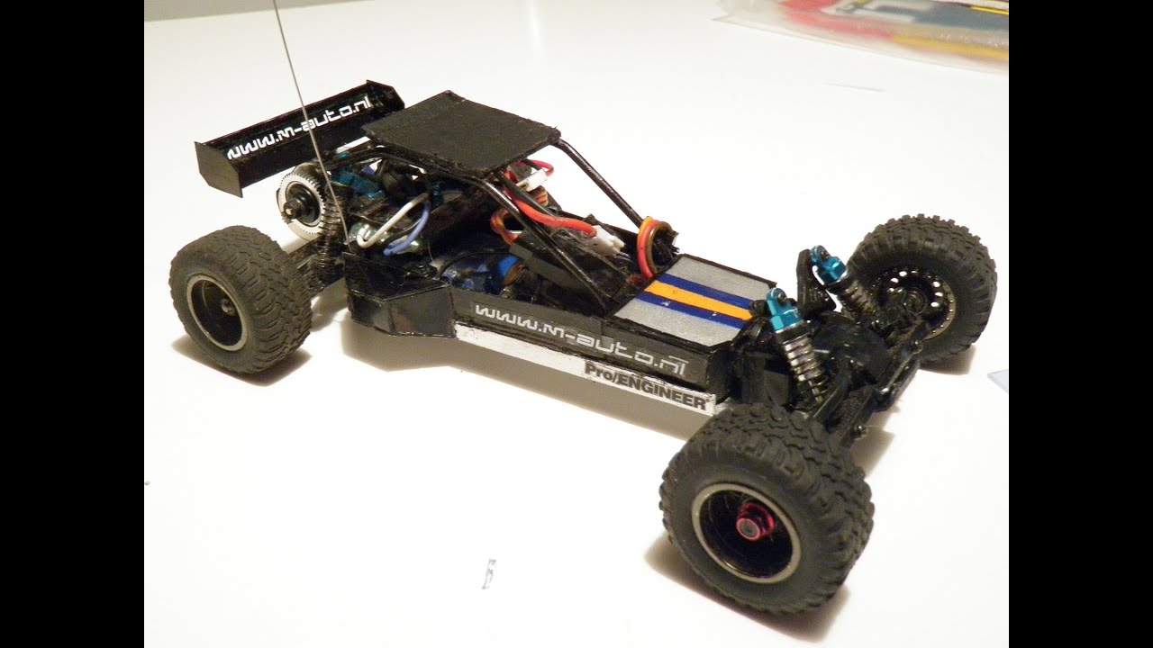 Custom Losi Micro Baja 5B Pt 3 Running Video