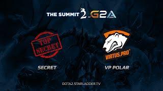 Team Secret -vs- VP.Polar, The Summit Europe, Day Last, game 2