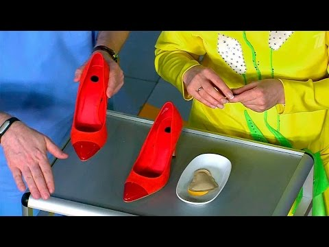 Как научиться ходить на каблуках чтобы ноги не уставали