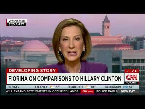 Carly Fiorina on Hillary