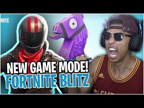 *NEW* Blitz (Squads) Game Mode! I FOUND A SECRET RARE LLAMA CHEST! Fortnite Battle Royale