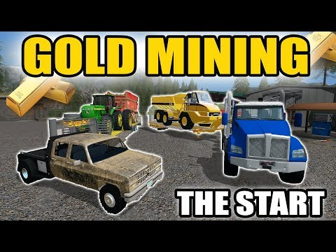 MINING SIMULATOR 2017 | TRUCKIN' EQUIPMENT AND STARTING MINING WITH CAT EQUIPMENT | EP #1