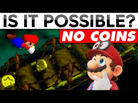 Beating Super Mario 64 Without Collecting ANY Coins | Is It Possible?