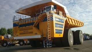 Largest Dump Truck In The World - Belaz 75710