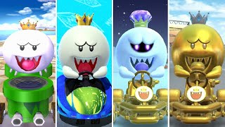 Evolution of King Boo Characters in Mario Kart (2003-2020)