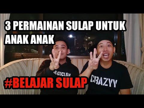 BONGKAR!!  3 PERMAINAN SULAP UNTUK ANAK ANAK Ft. Magician Bali #BELAJARSULAP