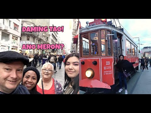 Taksim Square & Istiklal Street |  British-Filipina Couple Istanbul,Turkey Holiday