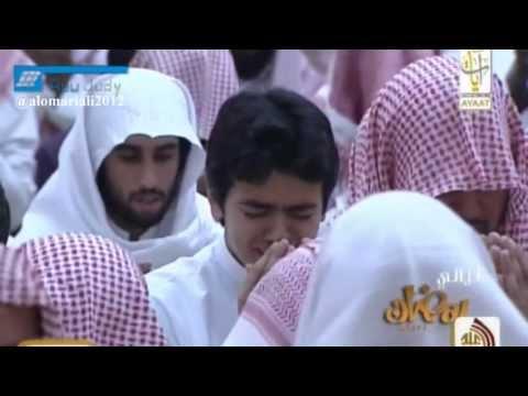 ش ياسر الدوسري وفي ختمة لا توصف بكى و أبكى من خلفه 1434هــ كاملة