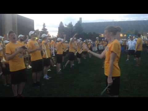 University of Wyoming Beer Song (In Heaven There Is No Beer) Performed By The Marching Band
