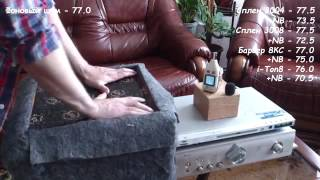 Наглядное видео как работает третий слой Noise Block в автомобиле