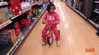 Happy Baby Ishfi Visits Supermarket Fun time with Toys