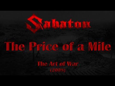Sabaton - The Price of a Mile (Lyrics English & Deutsch)