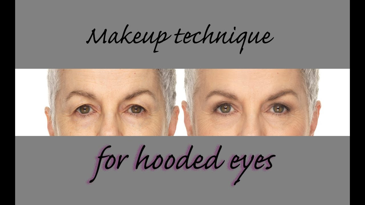 Hooded Eyes , simple makeup techniques for mature, hooded eyes