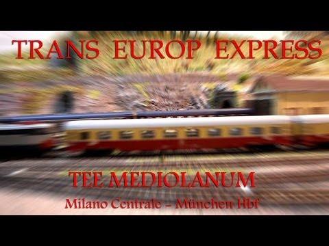 TEE 83/84 MEDIOLANUM Milano Centrale - München Hbf