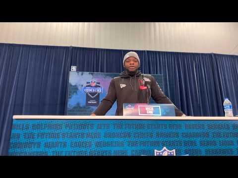 Auburn LB Nick Coe Interview At 2020 NFL Combine