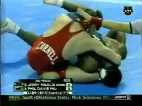 2007 NCAA Qtrs 197: Phil Davis vs Jerry Rinaldi