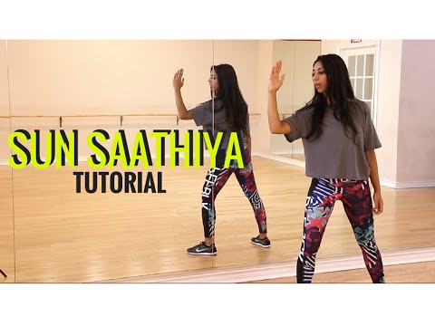 Sun Saathiya Dance Tutorial - Learn Bollywood Dance with Shereen Ladha