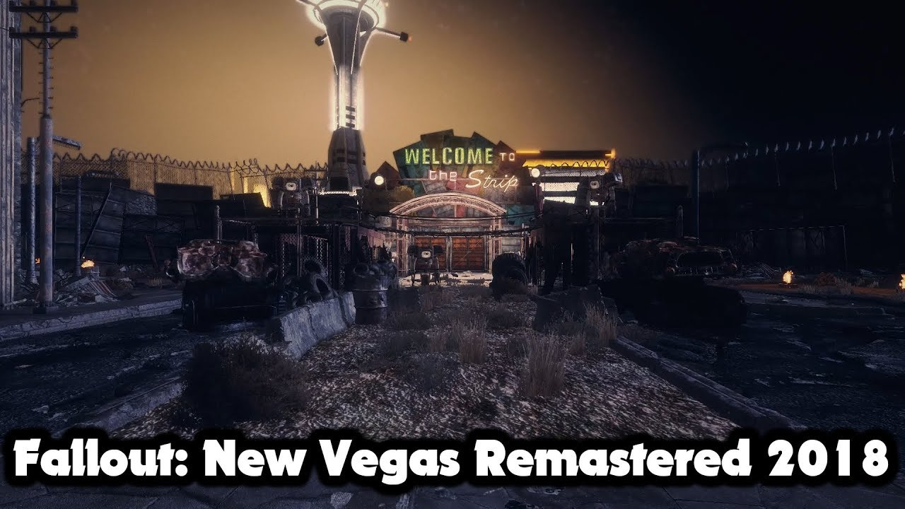 Fallout New Vegas Remastered at Fallout New Vegas - mods and