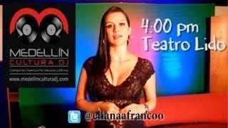 Medellín Cultura DJ ::: Eliana Franco ::: Invitación.