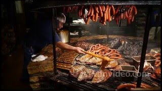Salt Lick BBQ, Austin Texas. Shot with Panasonic GH2 camera.