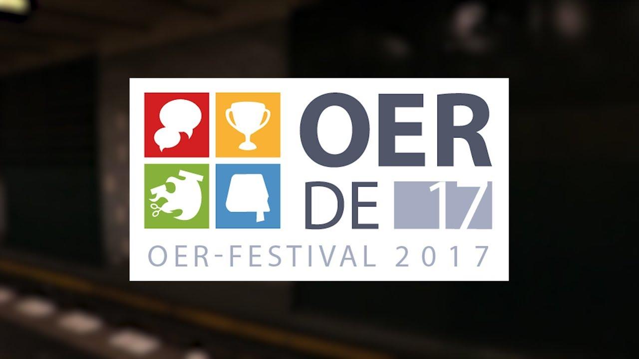 #OERde17 – der offizielle Film zum OER-Festival 2017