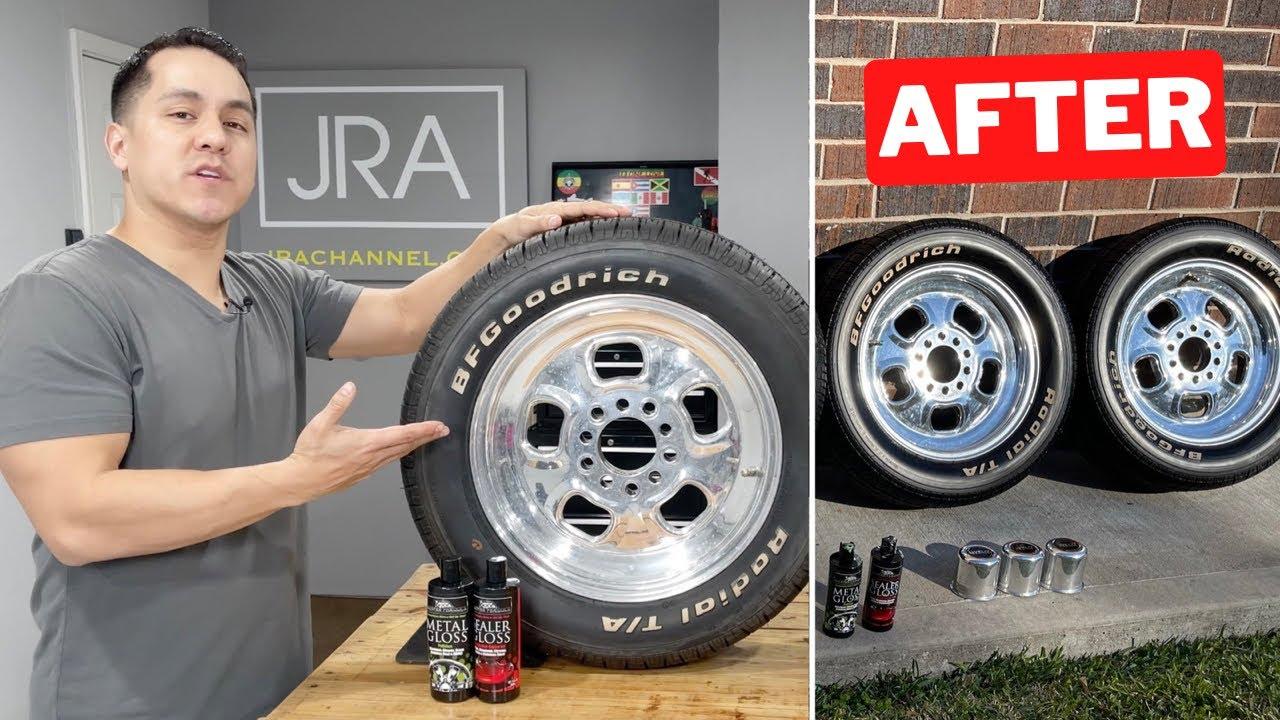 Master Formula Metal Gloss   How-To Polish Aluminum Wheels