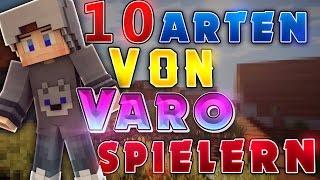 10 ARTEN von VARO SPIELERN !