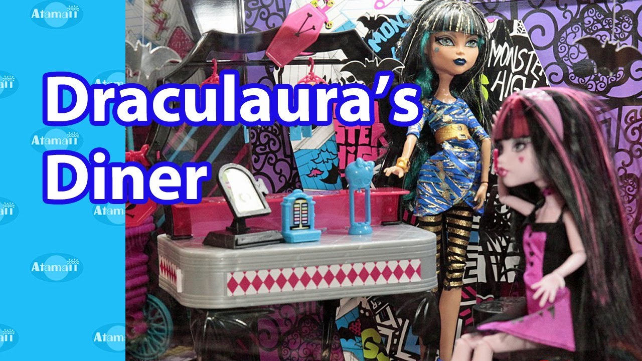 Draculaura's Diner Monster High Playset Tokyo Toy Fair