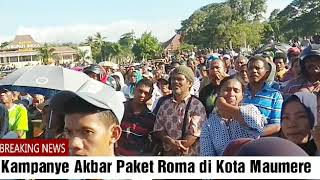 Pembukaan Kampanye Akbar Paket Roma