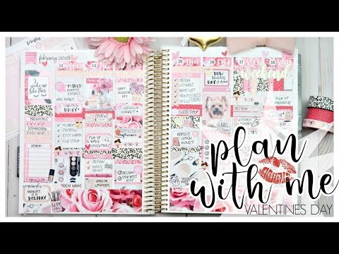 Plan With Me ❤️ Feb 12-18th ❤️ Ft. Firefly Paper Shop