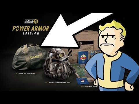 Bethesda Offers A Measly 500 Atoms In Response To Power Armor Edition Debacle
