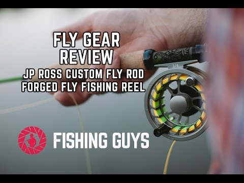 JP Ross Custom Fly Rod And Forged Fly Fishing Reel