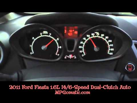 2011 ford fiesta 0 60 mph dual clutch automatic youtube. Black Bedroom Furniture Sets. Home Design Ideas
