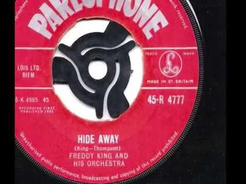 Freddy King - Hide Away - 1961 45rpm