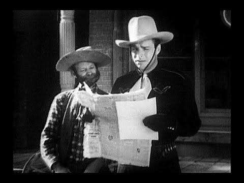 """Buster Crabbe - The Mysterious Rider - Al """"Fuzzy"""" St. John"""