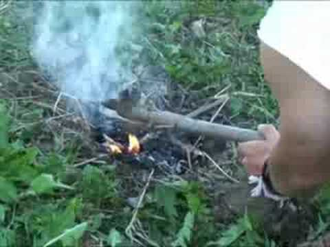 ganska cool senast nyanser av How to Fire Harden a Spear for Survival - YouTube