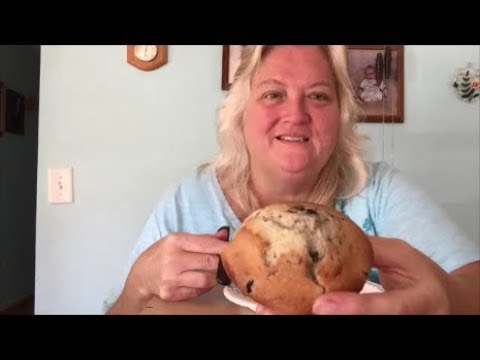 ASMR ... Making Blueberry Muffins with SuperFly !! With great sounds ! 🤗