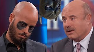 Dr Phil Asks 'Batman' Goose Wayne If He's Delusional