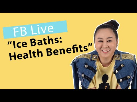(facebook live) Chat about The Health Benefits of Ice Baths