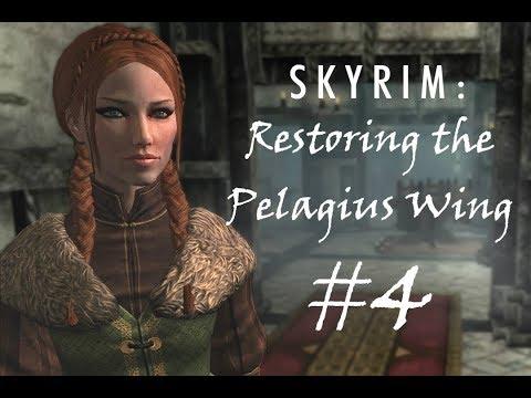 SKYRIM DIY: Restoring the Pelagius Wing #4
