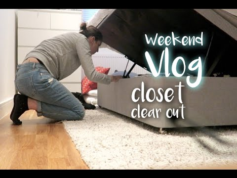 Closet Clear Out | Lily Pebbles VLOG