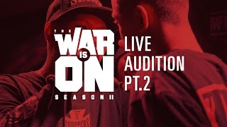 TWIO2 : LIVE AUDITION PT.2 | RAP IS NOW