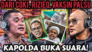 Dari Coki ke HRS ke Kartu Vaksin Palsu beredar‼️ Irjen Fadil Kapolda Metro jaya‼️ -Corbuzier Podcast