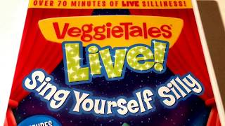VeggieTales * Live! * Sing Yourself Silly * DVD Movie Collection * Animated Cartoon