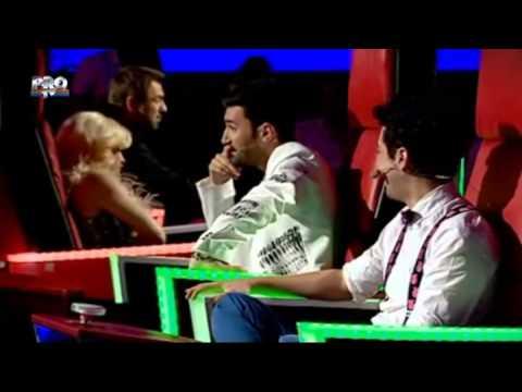 Fely Donose - You and I (Lady Gaga) - Vocea Romaniei - Auditii pe nevazute