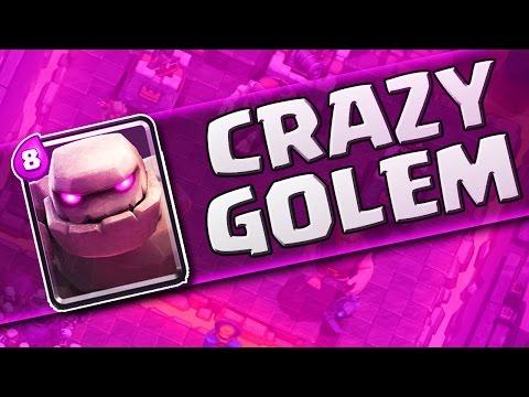 EPIC LIVE GAMEPLAY  ::  Clash Royale  :: THE GOLEM IS INSANE!