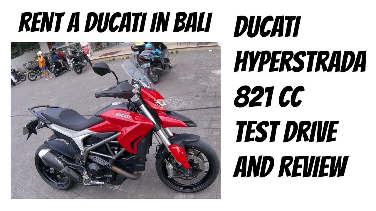 rent a ducati in bali, my bike is back ! test drive ducati