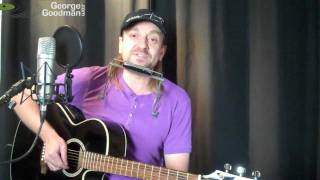 Alice Cooper Eighteen Harmonica and Guitar Lesson by Nanaimo musician George Goodman