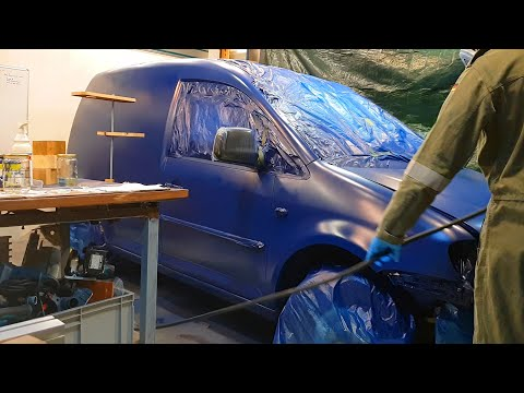 How to Spray Paint your Car in a DIY booth (25 Steps)