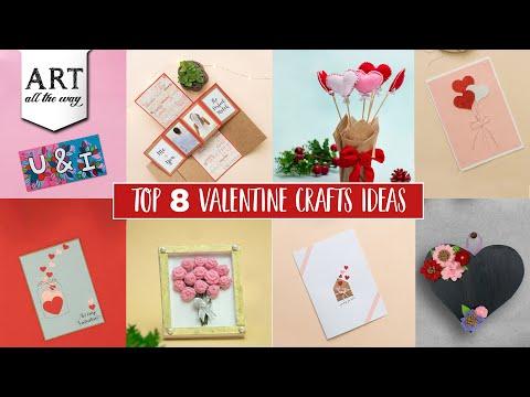 Top 8 Valentine Craft ideas | Valentines Day Craft | Gift ideas for him